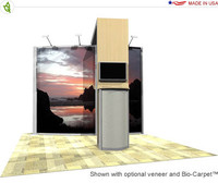 Eco-Systems - Luna - 10' x 10' Inline Trade Show Booth