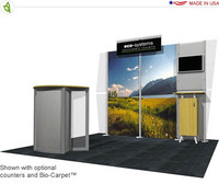 Eco-Systems - Deo - 10' x 10' Inline Trade Show Booth