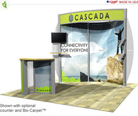 Eco-Systems - Cascada - 10' x 10' Inline Trade Show Booth