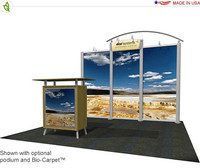 Eco-Systems - Hybrid - 10' x 10' Inline Trade Show Booth