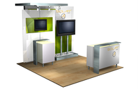 Solar A - 10' x 10' Inline Trade Show Booth