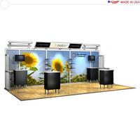 Alumalite Lineare - AL8 Deluxe - 20' Trade Show Booth