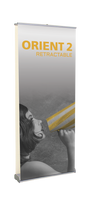 Orient 920-2 - Double Sided Retractable Banner Stand