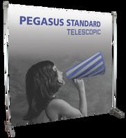 Pegasus Supreme 8' x 8' Telescopic Banner Stand