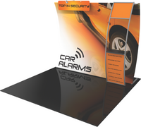 Formulate - 10' Vertically Curved Backwall - VC4