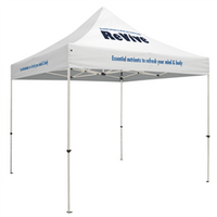 Standard - 10' Square Outdoor Event Tent /w 1 Imprint