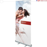 Budget R1 Retractable Banner Stand