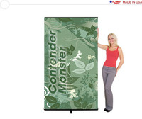 Contender Monster - Retractable Banner Stand