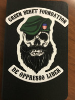 GBF Green Beret Skull Decal