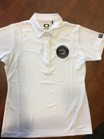 Women's White Ogio Polo