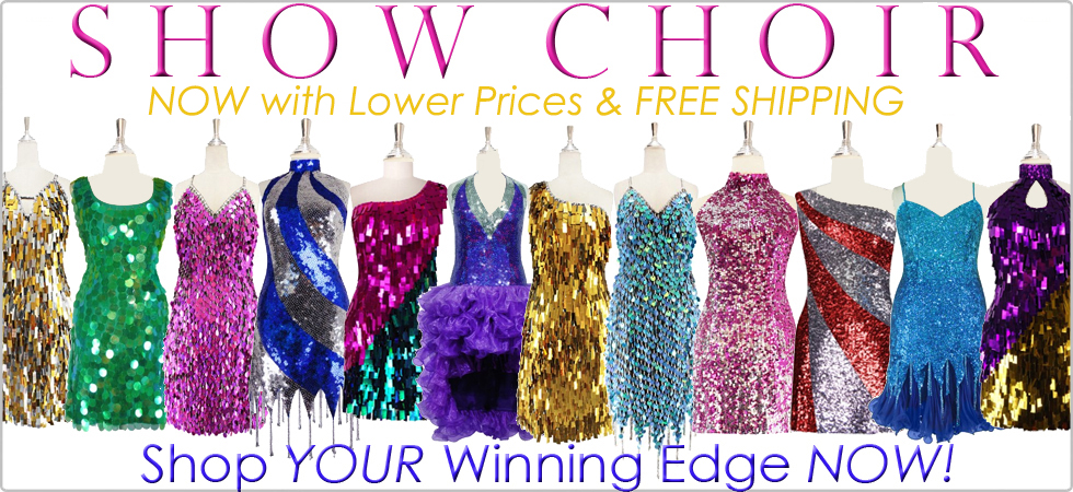 4aeea533ca39f Sequin Dresses | Custom Sized and Custom Made Show Choir Sequin ...