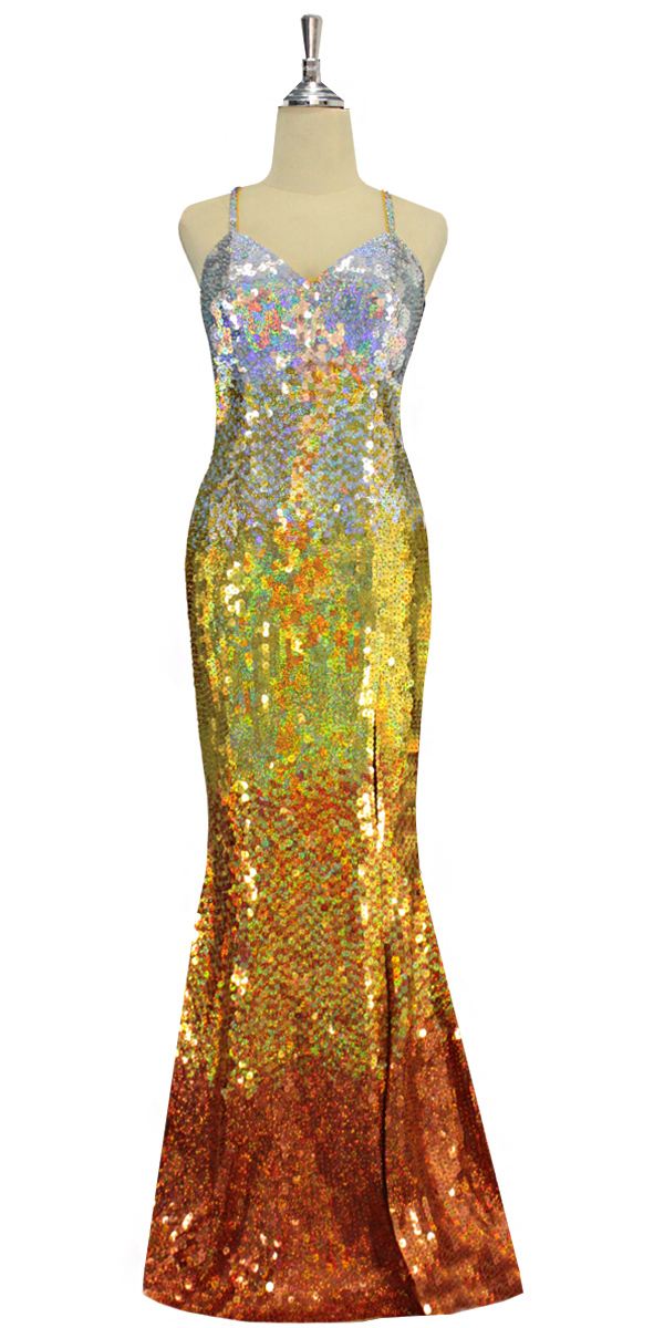 sequinqueen-long-hologram-silver-light-gold-old-gold-and-copper-sequin-dress-front-9192-073.jpg