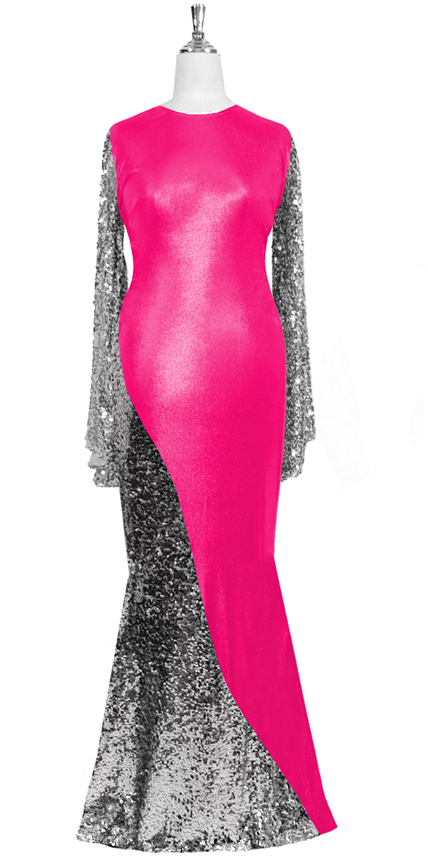 sequinqueen-long-silver-and-pink-sequin-dress-front-7001-042.jpg