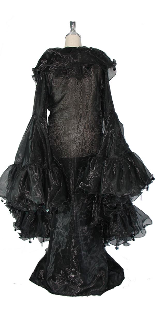 sequinqueen-short-black-ruffle-coat-back-or1-1602-004.jpg