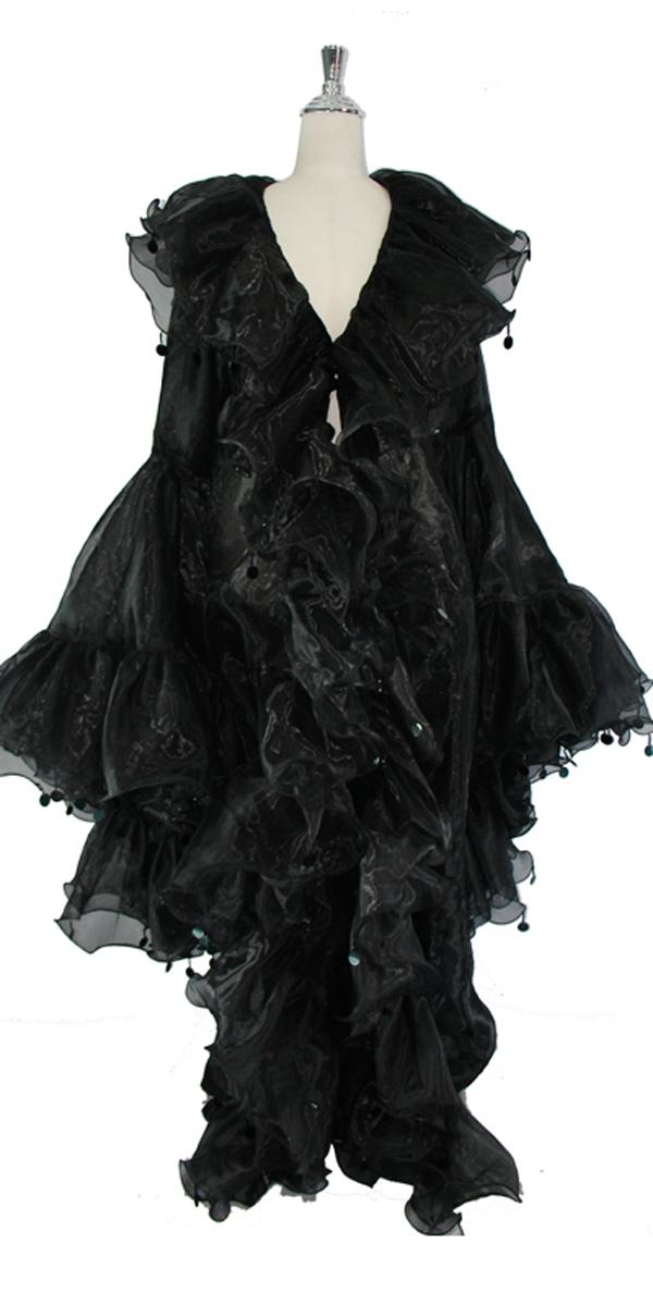 sequinqueen-short-black-ruffle-coat-front-or1-1602-004.jpg