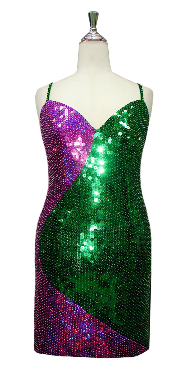 sequinqueen-short-green-fuchsia-sequin-dress-front-3002-007.jpg