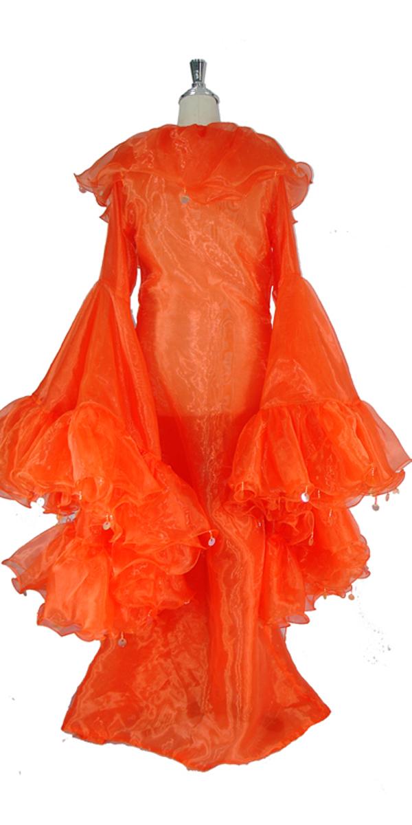 sequinqueen-orange-ruffle-coat-back-or1-1602-011.jpg