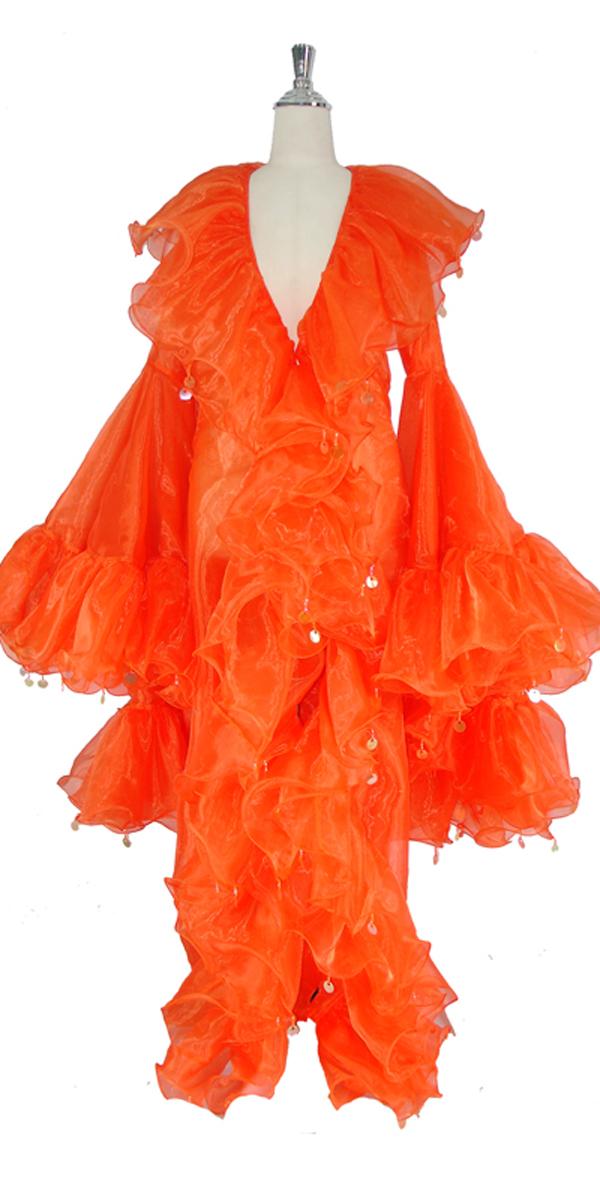 sequinqueen-orange-ruffle-coat-front-or1-1602-011.jpg
