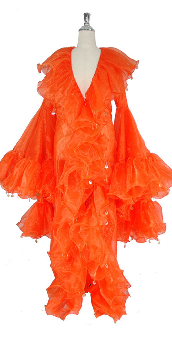 sequinqueen-orange-ruffle-coat-front-or1-1602-011.jpg