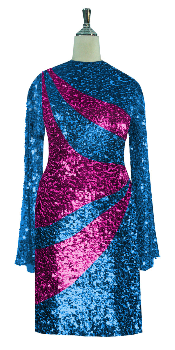 sequinqueen-short-turquoise-and-fuchsia-sequin-dress-front-7002-089.jpg