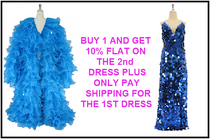 Buy 1 & Get 10% FLAT On The 2nd Dress Plus Only Pay Shipping For The 1ST Dress (SPCL-090)
