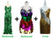 Buy 1 Long Handmade Gown and 1 Short Handmade Sequin Dress With Discounts On Each & Get 1 Short Sequin Fabric Dress Free (SPCL-092)
