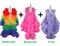 Buy 2 Organza Ruffle Coats  With Discounts On Each & Get 1 Organza Ruffle Coat Free (SPCL-053)