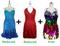 Buy 2 Short Handmade Dresses With Discounts On Each & Get 1 Short Handmade Sequin Dress Free (SPCL-064)