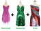 Buy 2 Short Handmade Dress With Discounts On Each & Get 1 Short Sequin Fabric Dress Free (SPCL-074)