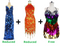 Buy 2 Handmade Sequin Dresses With Discounts On Each & Get 1 Short Handmade Sequin Dress Free (SPCL-083)
