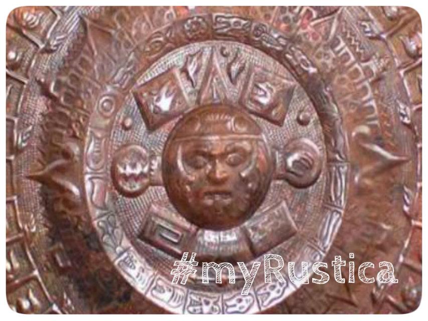 aztec calendar wall plaques