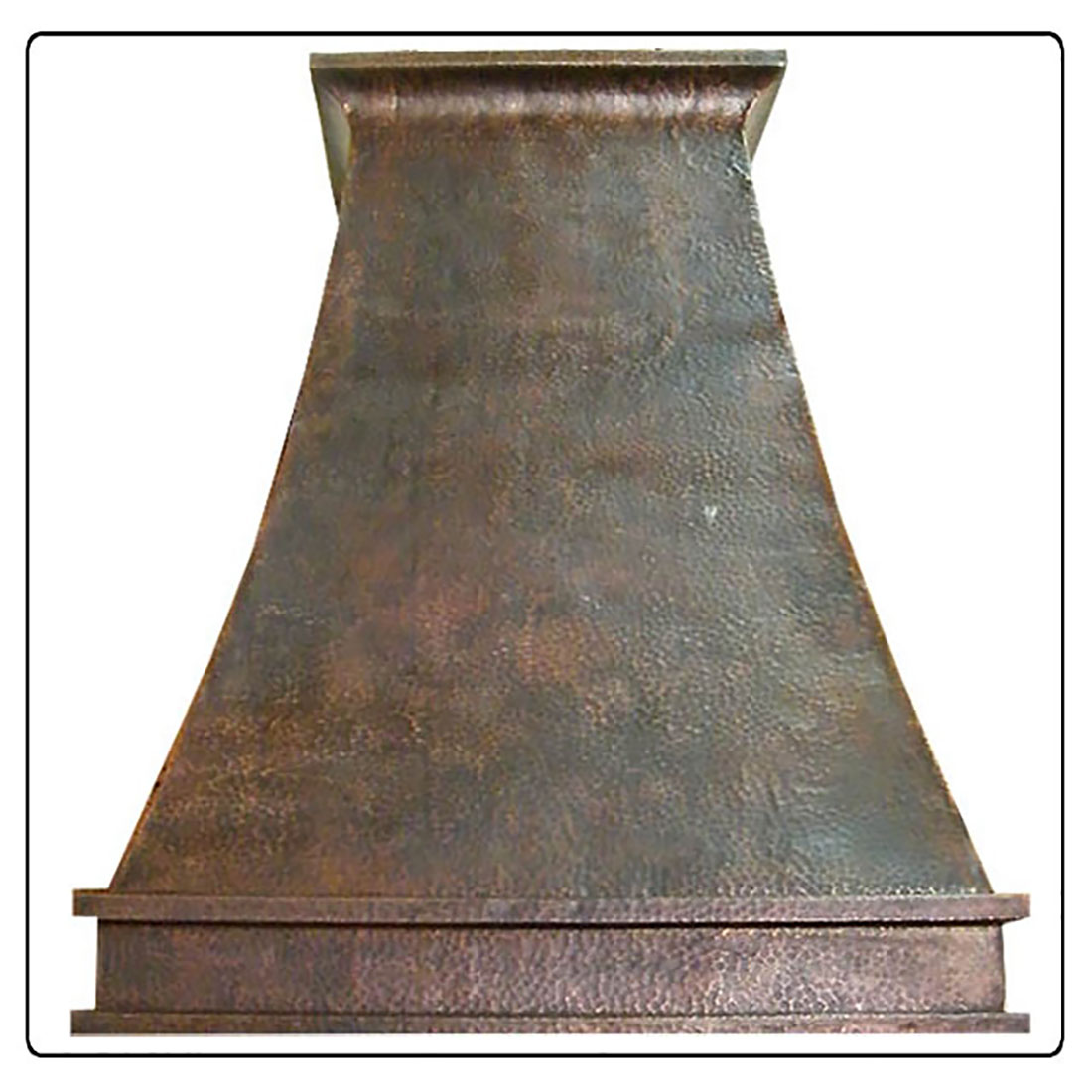 copper range hood discount