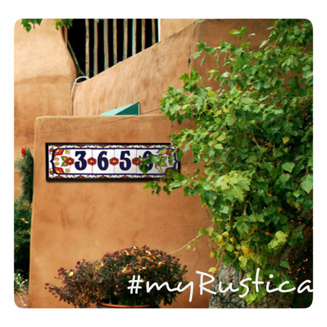decorative house number tiles