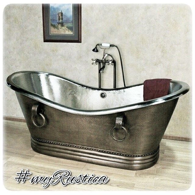 Mexican Copper Bathtub