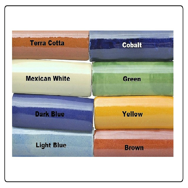 mexican ceramic tile trims and moldings