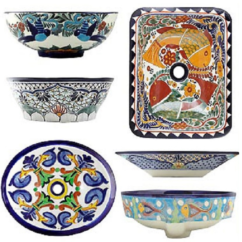 mexican bath sinks
