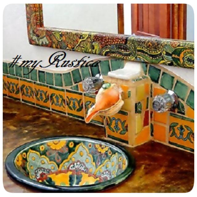mexican bath sinks