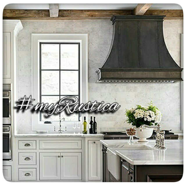 rustic kitchen range hoods