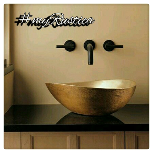 bath wall bronze faucets