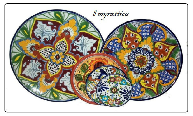 decorative plates and talavera tableware