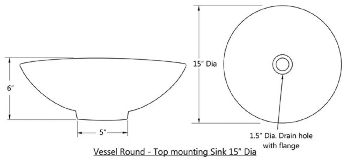 round talavera vessel sinks