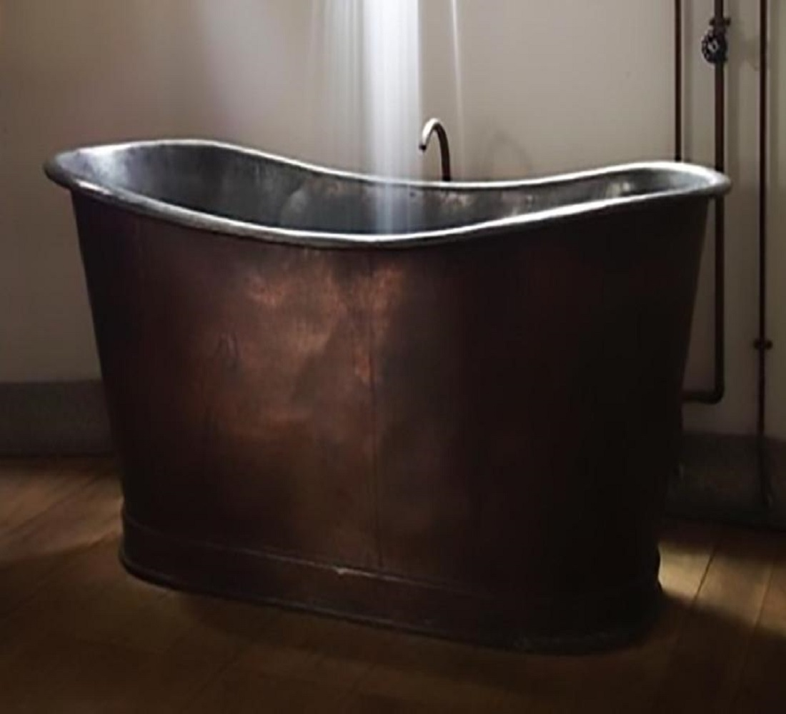 best deep copper bathtub