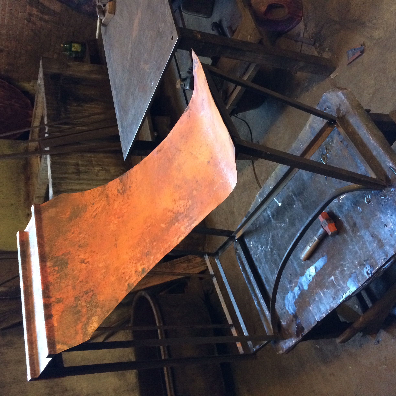 rustica copper range hood installation