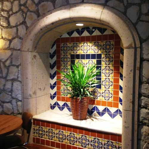 decorative ceramic tiles from Mexico