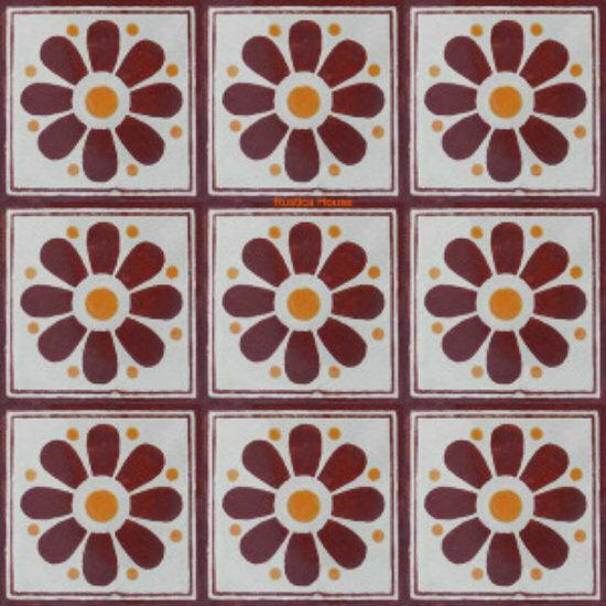 Decorative Talavera Tiles From Mexico Rustica House