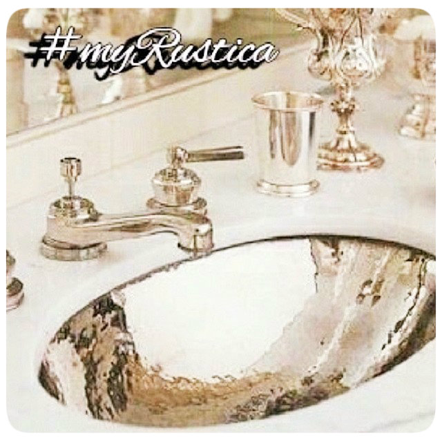 zinc bathroom sinks