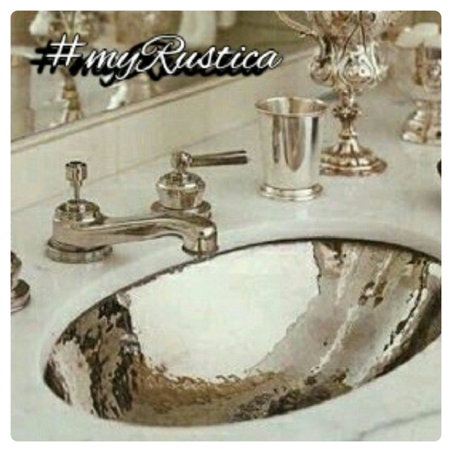 bathroom zinc sinks