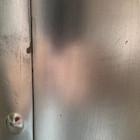 wall mount zinc range hood detail