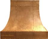 copper kitchen range hoods