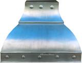 small zinc range hood